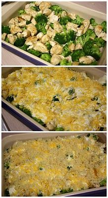 Mommy's Kitchen: Chicken Divan {Potluck Sunday} so yummy! one of my favorites. 10 minute prep, 30 minute cooking. 9/10