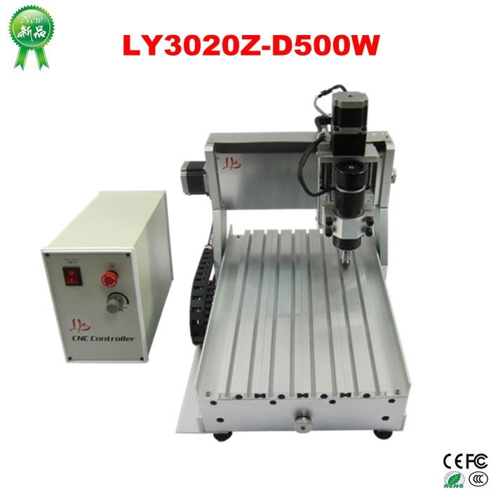 (769.50$)  Buy here  - 500W power 3 axis cnc engraving machine 3020Z for woodworking, Russia free tax