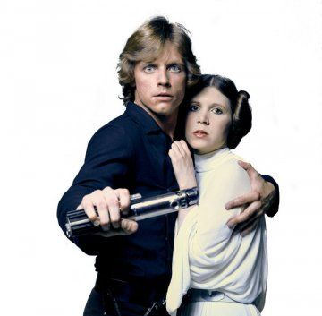 Couples Costumes - Luke and Leia Skywalker. A great couples costume idea for Halloween would be Luke and Princess Leia Skywalker from Star Wars and Empire Strikes Back