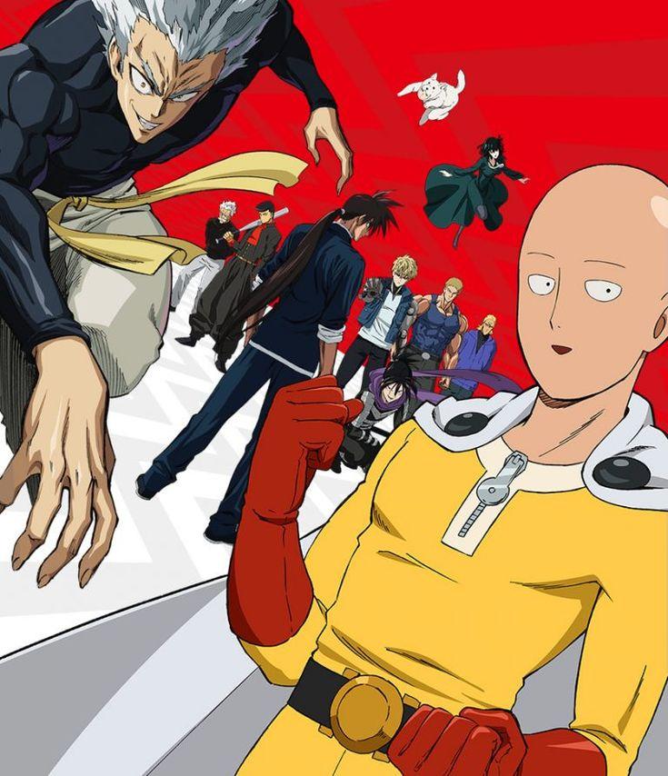 El anime ''One Punch Man Season 2'', desvela imagen