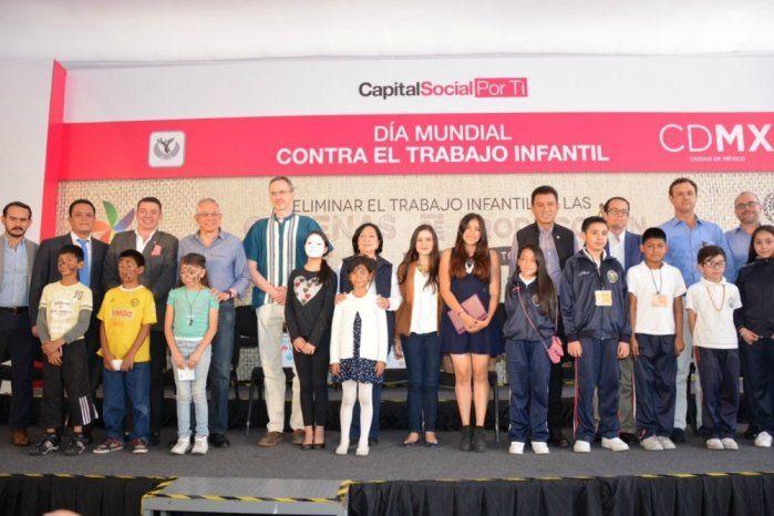 Propone Gobierno CDMX erradicar trabajo infantil
