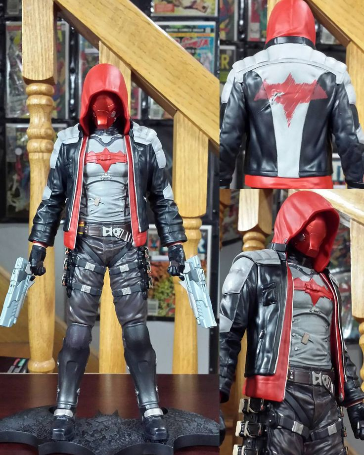 The new Red Hood Arkham Knight statue is also available everywhere tomorrow. Great detail on the sculpt and paint.  Post by @robindcross by thebatforce