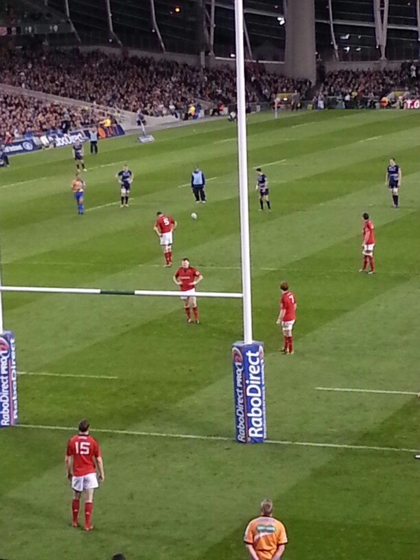 Munster V Leinster, another penalty for Leinster