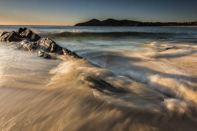Beach wash by Keith McInnes Photography, via Flickr