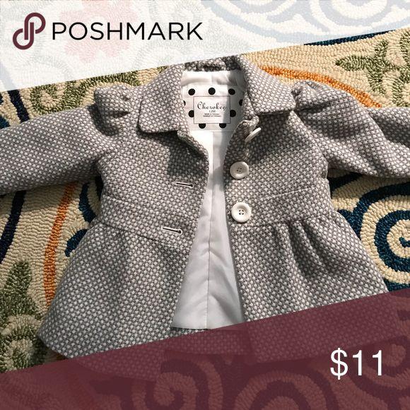 Baby Peacoat Baby girl peacoat. Perfect for dressing up. Cherokee Jackets & Coats Pea Coats