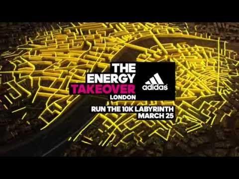 "adidas Presents ""The Energy Takeover"" London 10K Run"