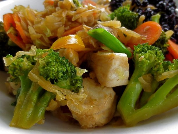 Make and share this Tilapia and Vegetable Stir Fry recipe from Food.com.