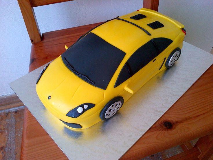 Lamborgini Cake - www.suikerbekkie.co.za