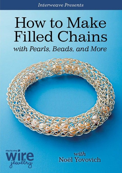 How to Make Filled Chains with Pearls, Beads and More Video Download