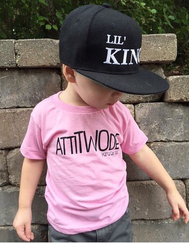 Does your little 2yr old have the right amount of attiTWOde? The perfect combination of sassy & sweet for your little one to wear! Super soft American Apparel tee Poly-Cotton (50% Polyester / 50% Comb
