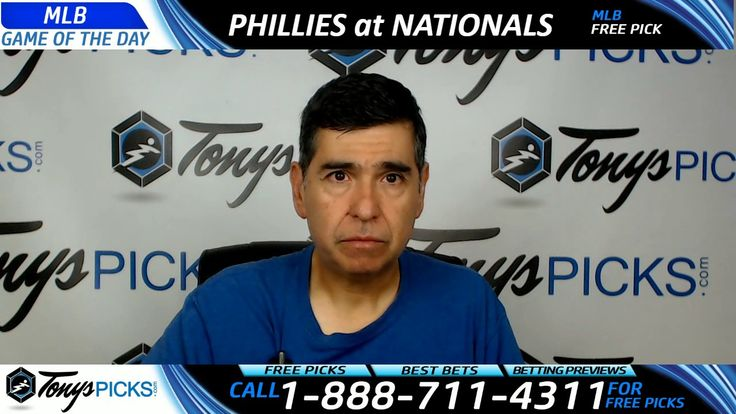 Philadelphia Phillies vs. Washington Nationals Free MLB Baseball Picks a...