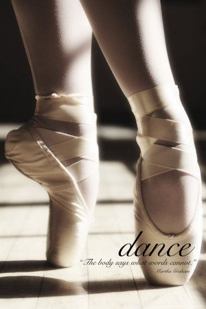 .: Dance Posters, Pointe Shoes, Points Shoes, Ballerinas, The Body, Dance Quotes, Taps, Ballet Shoes, Martha Graham