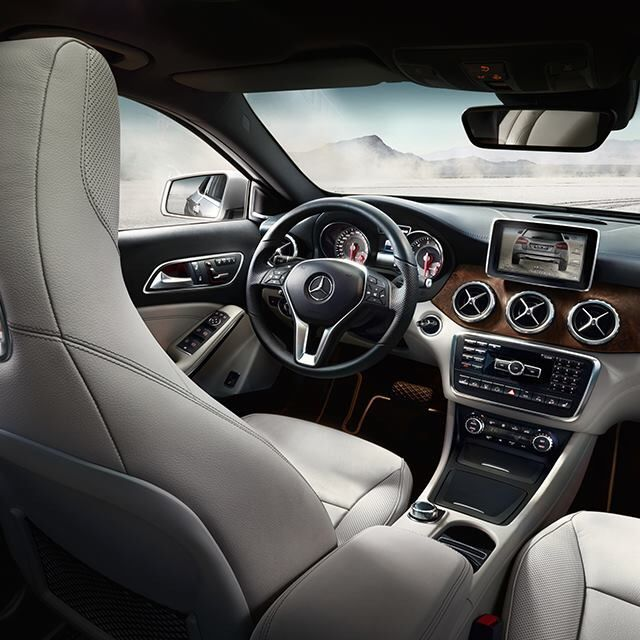 Mercedes-Benz GLA interior.