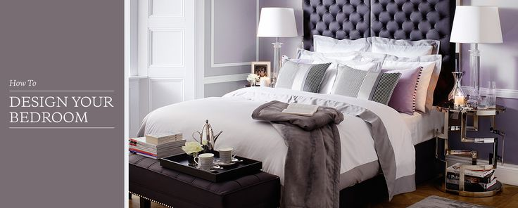 The look and design of this bedroom is the look I'm going for. So chic, sophisticated! How To Design Your Bedroom - Layout & Furniture   Houseology