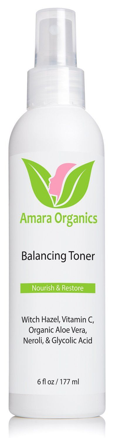 Amara Organics Facial Toner with Witch Hazel and Vitamin C, 6 fl. oz. >>> Check out this great product. (Note:Amazon affiliate link)