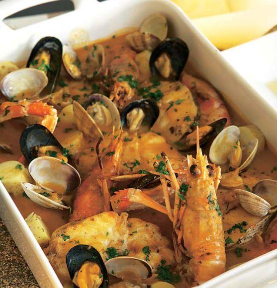 Zarzuela de pescados 'nobles' #recipes #cuisine