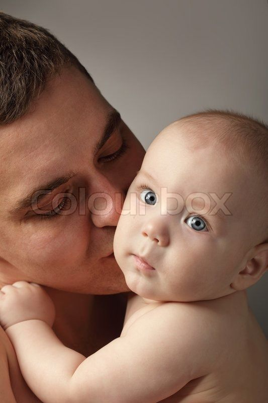 Stock image of 'Father and son'