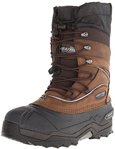 $139, Brown Snow Boots: Baffin Snow Monster Insulated All Weather Boot. Sold by Amazon.com. Click for more info: https://lookastic.com/men/shop_items/157850/redirect