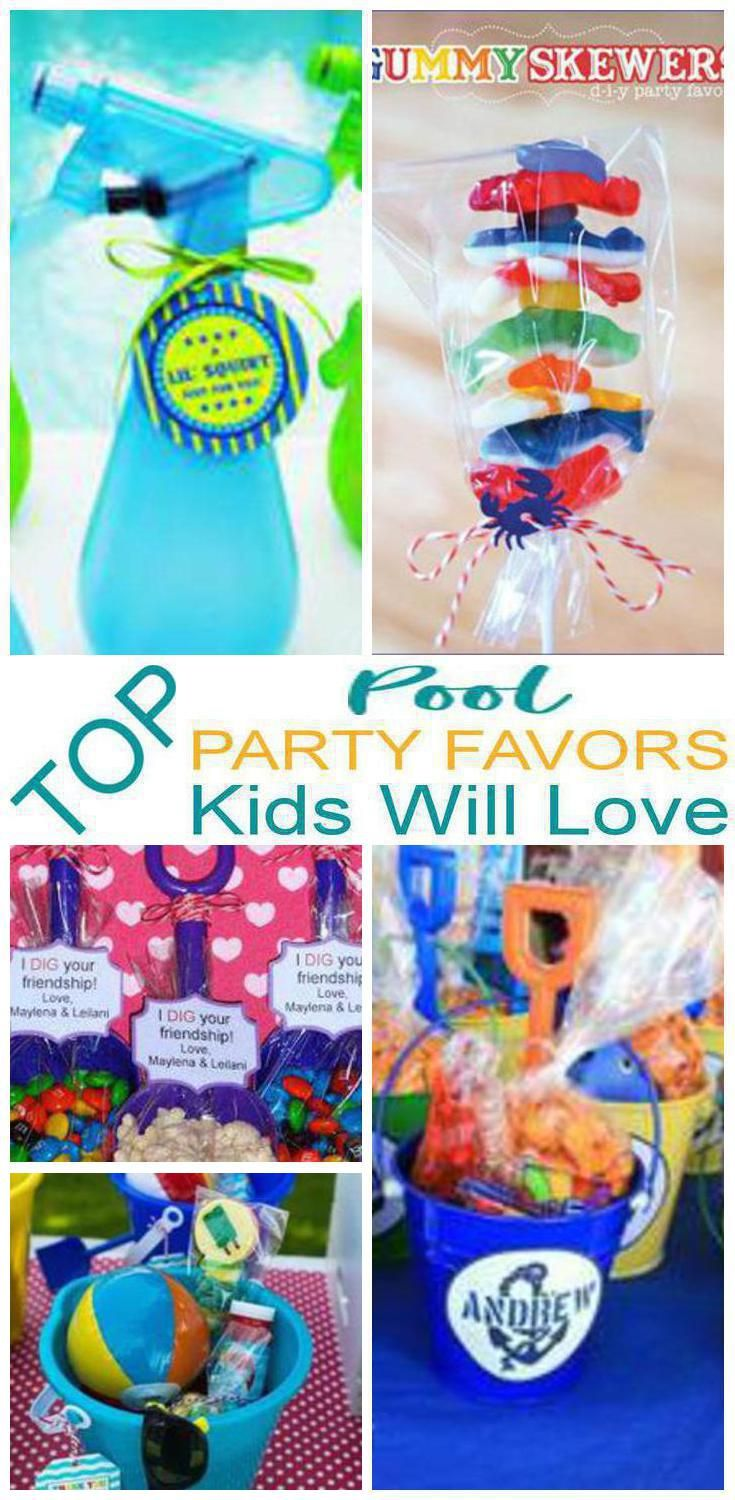 kids party favors pool party favors that kids will love easy ideas that boys and girls will love to take home as a gift from your pool theme party