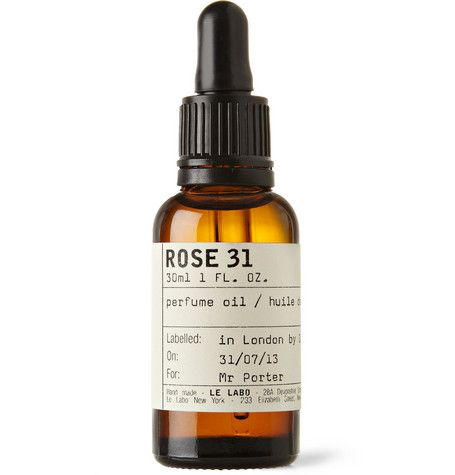 Rose 31 Perfume Oil by Le Labo