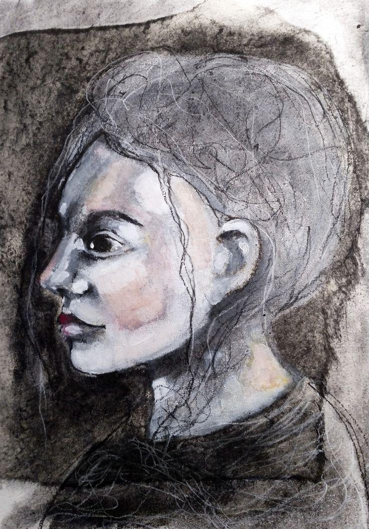 fractured portraits. beginning.