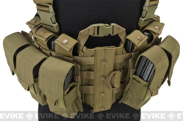 Lancer Tactical High Speed M4/M16 Chest Rig - Tan                                                                                                                                                                                 Más