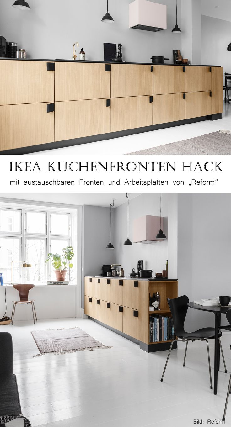 ikea k chenfronten pimpen skandinavisch wohnen ikea. Black Bedroom Furniture Sets. Home Design Ideas