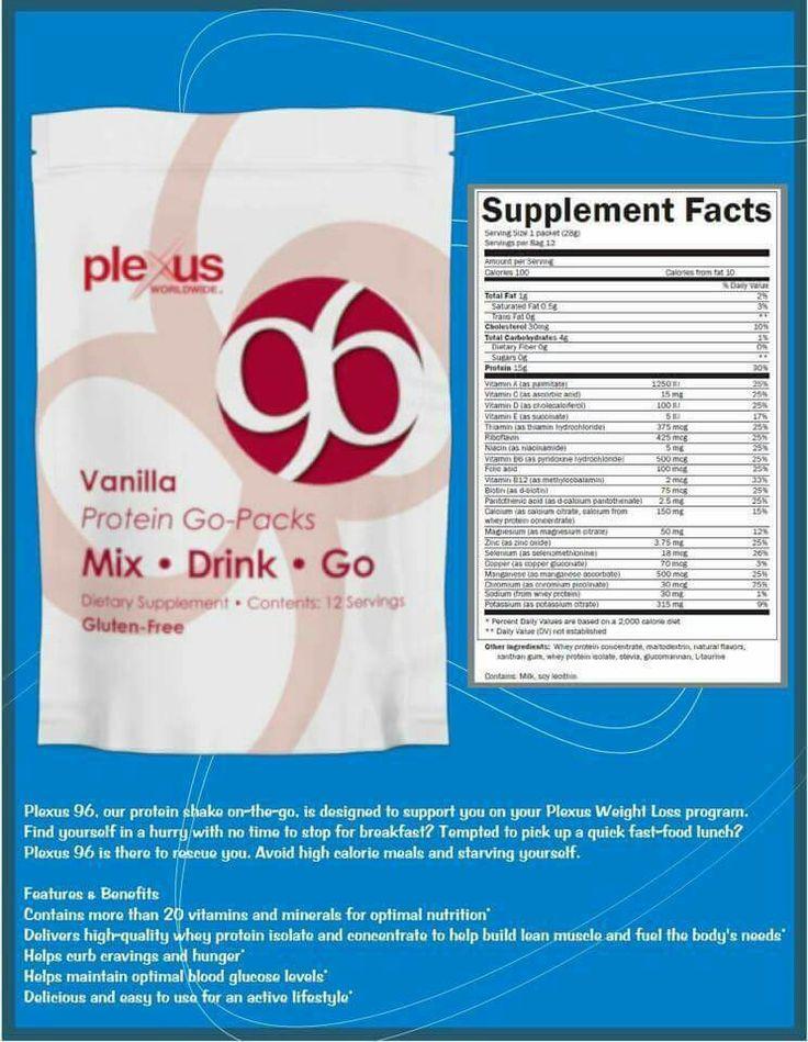 Plexus 96 protein shake