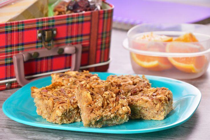 Este regreso a clases, consiente y nutre a tus hijos con estas deliciosas barritas de manzana con canela, que además son bajas en calorías, ya que se elaboran con sustituto de azúcar. ¡Seguro les encantarán!