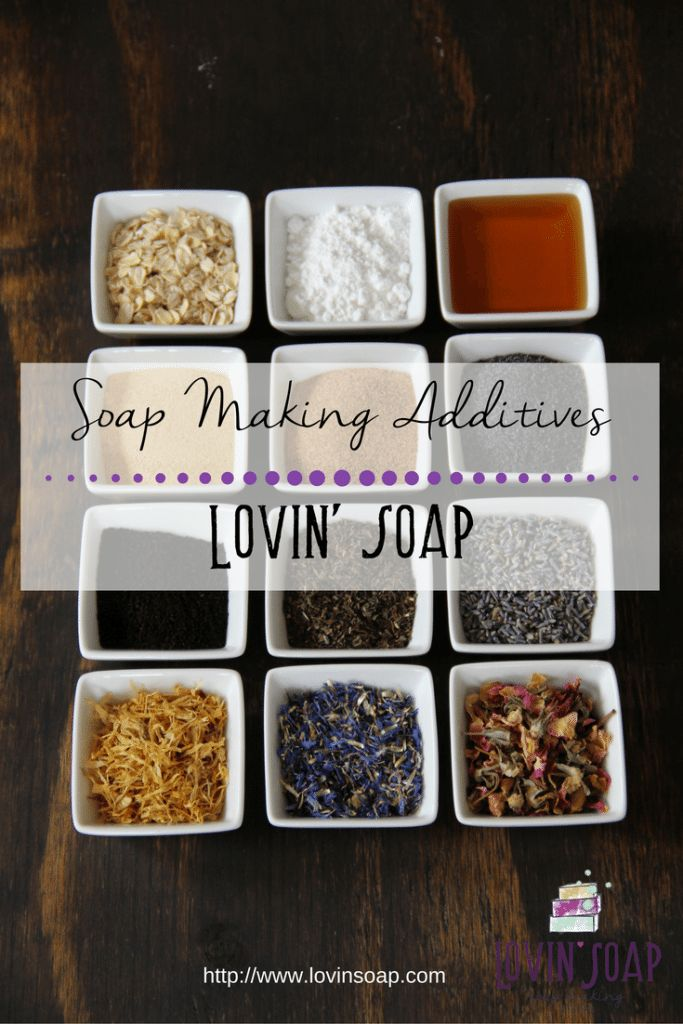 Free!! Soapmaking Additives Chart at Lovin' Soap.   Additives in Soap | Adding herbs to soap | Exfoliating Soap | Additves for soapmaking | honey in soap | milk in soap