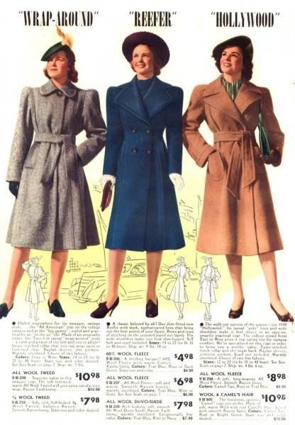 How to Wear 1940s Women's Fashion