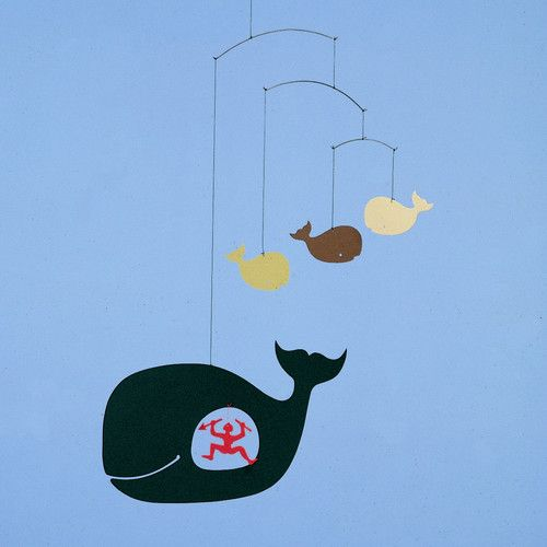 Found it at AllModern - Jonah and the Whale Mobile
