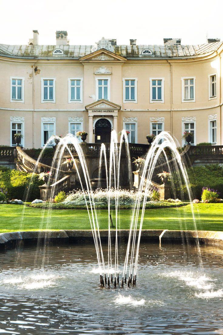 Tiskevicius Palace in Palanga #Travel #Baltics #Lithuania