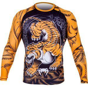 Venum TIGER Rash Guard L/S Vechtsport Nederland
