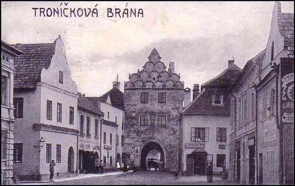 historická Třeboň 1.