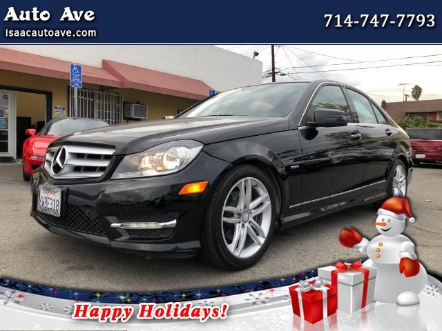 Used 2012 Mercedes-Benz C-Class C250 Luxury Sedan for Sale in Los Angeles, Korea Town CA 90006 Auto Ave