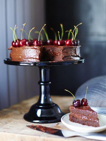 Glutenfri chokladtårta / Bakverk ~ Recept | Leila Lindholm (leila.se)