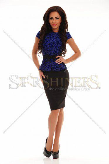 Rochie Fofy Darling Queen Blue