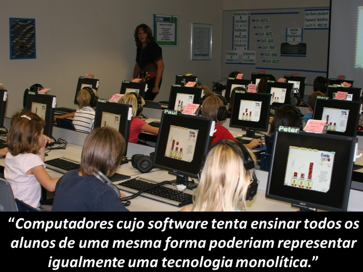 Computador e software educacional