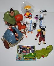 McDonald's MC DONALD'S HAPPY MEAL - 2001 Le Follie dell'imperatore Serie complet