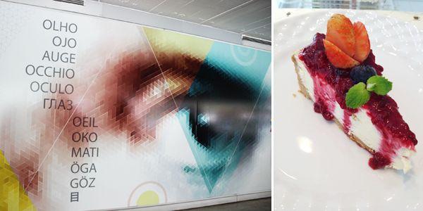 """MON Café. Museu Oscar Niemeyer. """"Museu do Olho""""."""