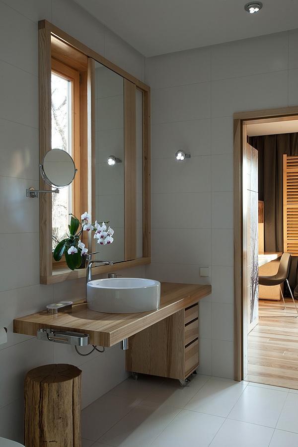 Bacha Para Baño Azul:Earthy Bathroom