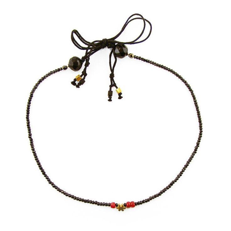 Ruby Puzzle Necklace - Adorable Adornments