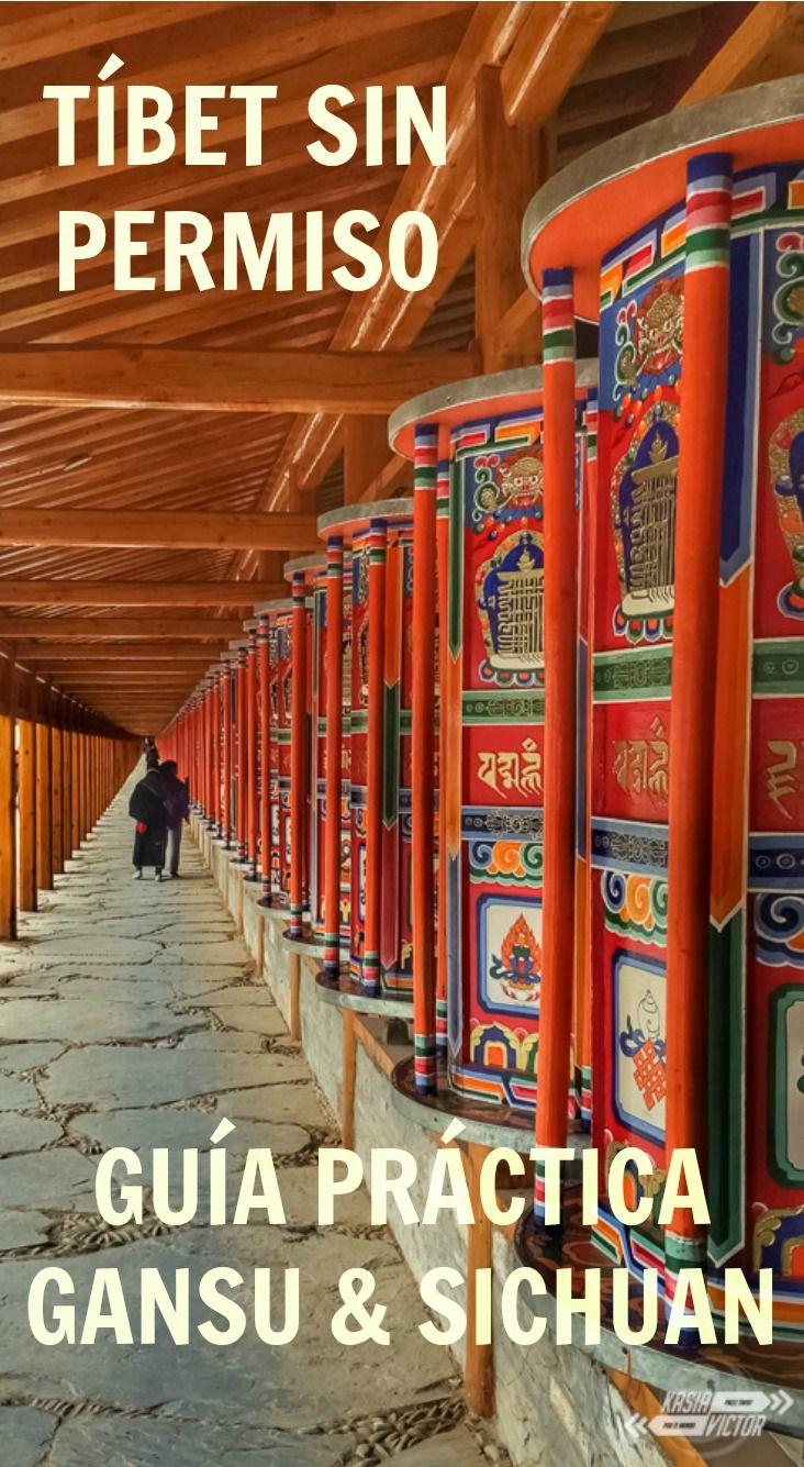 ¿Quieres viajar a Tíbet? Se puede viajar sin permiso. Aquí contamos cómo hacerlo en las provincias de Gansu y Sichuan.  http://www.kasiavictor.com/tibet-sin-permiso/