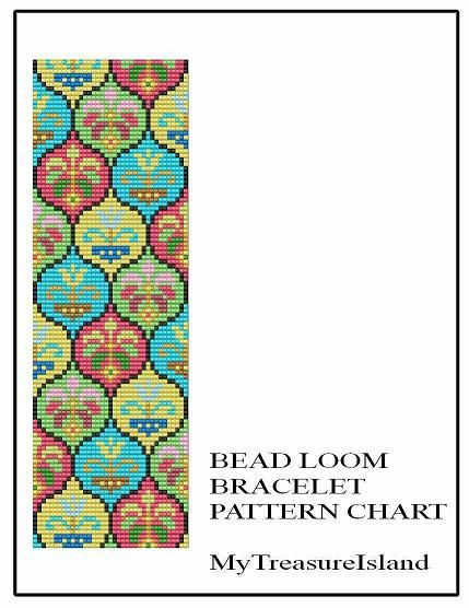 For sale is Bead Loom Vintage Sajou 1 Motif Pattern in PDF format. For this design I used Miyuki Delica seed beads in size 11. By using the full