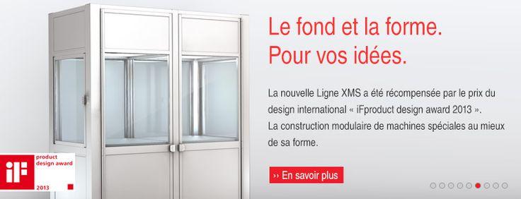 Fournisseur d'équipements industriels Recommandation : http://www.item24.fr/fr/home.html
