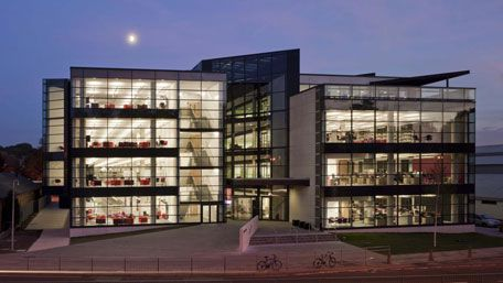 """Canterbury Christ Church University, Kent, United Kingdom - Augustine House Library and Student Services Centre - """"Awards for Academic Library Design"""", Designing Libraries"""