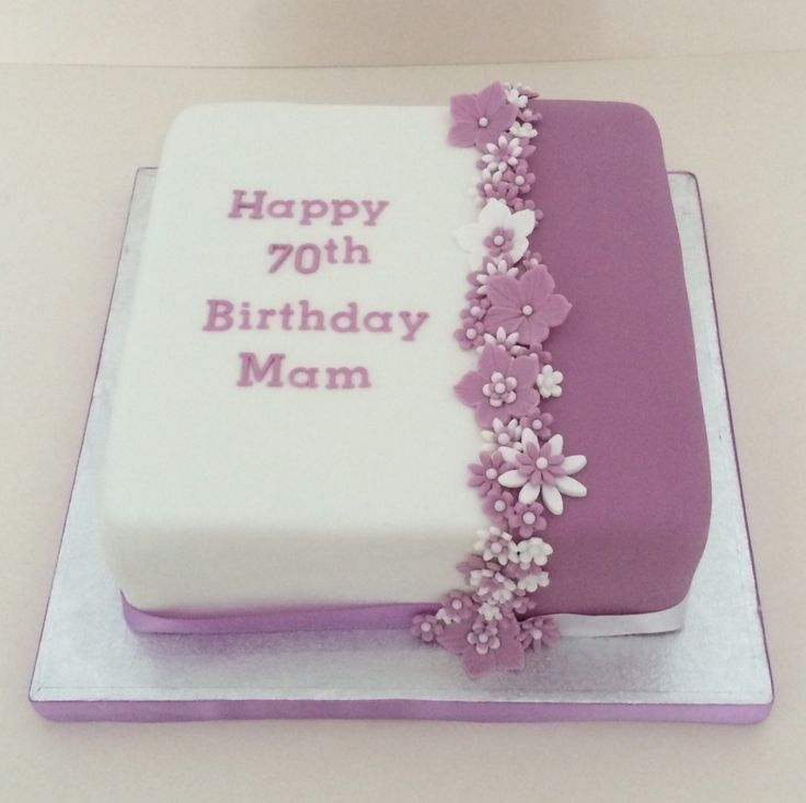 Cake Ideas For Female Birthday : Best 25+ 70th birthday cake ideas on Pinterest