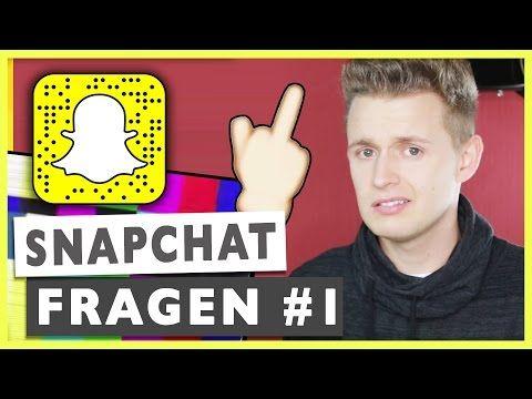 Snapchat Fragen und Antworten I SNAPCHAT Q&A #1 - 2015 | Prowl3r I YouTube