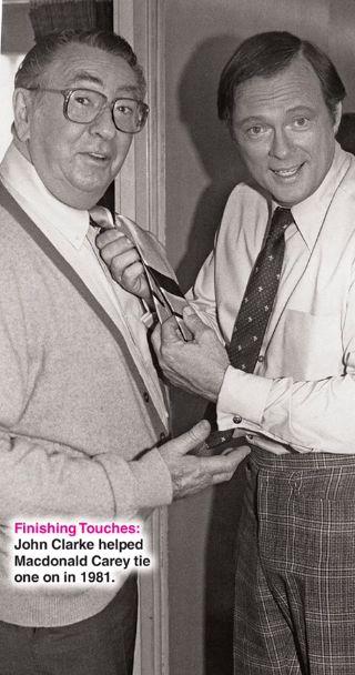 MacDonald Carey and John Clarke... RIP